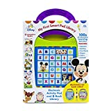 Disney Baby - Mickey, Minnie, Toy Story, and more! My First Smart Pad Electronic Activity Pad and 8-Book Library - PI Kids