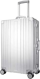 Skylark Aluminum Luggage Hard Shell Suitcase TSA Lock Spinner 26