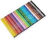 Rotuladores Alpino Coloring para Niños - Estuche de 24 Colores con Punta Fina 3mm - Tinta...
