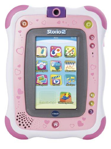 VTech–136855–elektronischesSpiel –Tablet Storio 2,Rosa + integrierte Kamera