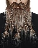 Mustaches Auto-Adhésives, Nouveauté, Viking Dwarf Fausse Barbe, Faux Cheveux...