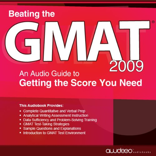 Beating the GMAT 2009 audiobook cover art