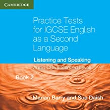 Practice Tests for IGCSE English as a Second Language Book 2 (Extended Level) Audio CDs (2): Listening and Speaking (Cambridge International IGCSE)