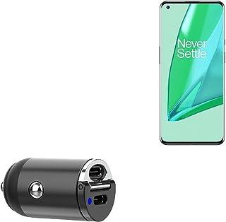 Carregador de carro para OnePlus 9 Pro (carregador de carro da BoxWave) – Mini carregador de carro Dual PD, rápido, 2 carr...