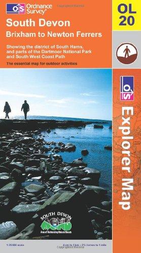 OS Explorer map OL20 : South Devon