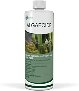 Aquascape 96024 Algaecide Treatment for Koi Fish Ponds and Water Gardens, 32 Ounces, Clear