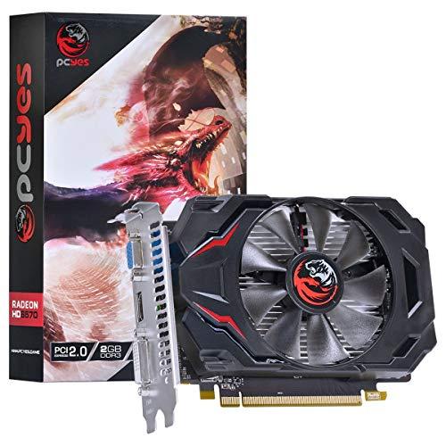 Placa de Video AMD Radeon HD 6570 2Gb Ddr3 128 Bits - Pj657012802D3, PCYes, 30765