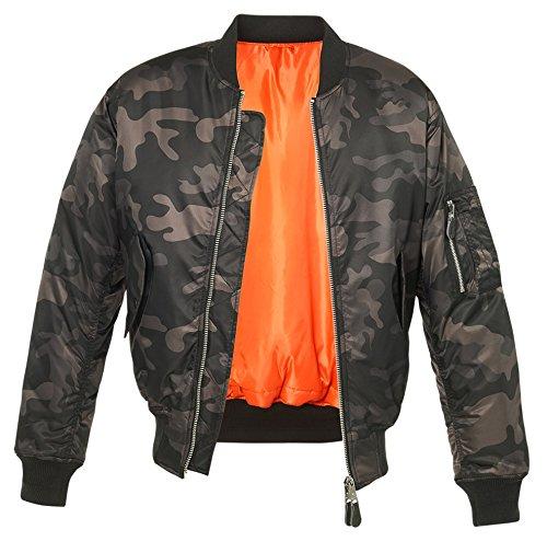 Brandit MA1 Camo Jacke Darkcamo XL