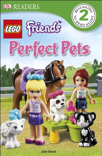 DK Readers L2: LEGO® Friends Perfect Pets (DK Readers Level 2)