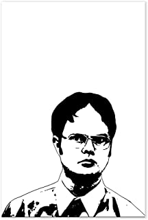 Dwight Schrute The Office TV Show Poster