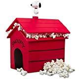 Smart Planet SDH-1P Dog House Snoopy's Silicone Microwave Popcorn Maker, Red