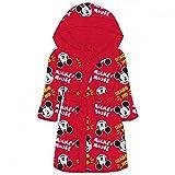 NEU Albornoz infantil con capucha de Mickey Mouse. rojo 2-3 Años