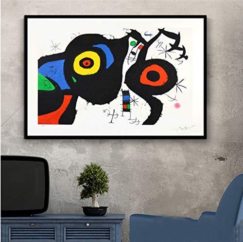 Pintor famoso Joan Miro Pinturas de arte moderno Cuadro