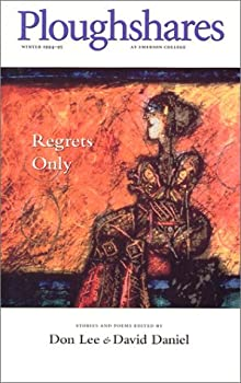 Ploughshares Winter 1994-95: Regrets Only 0933277121 Book Cover
