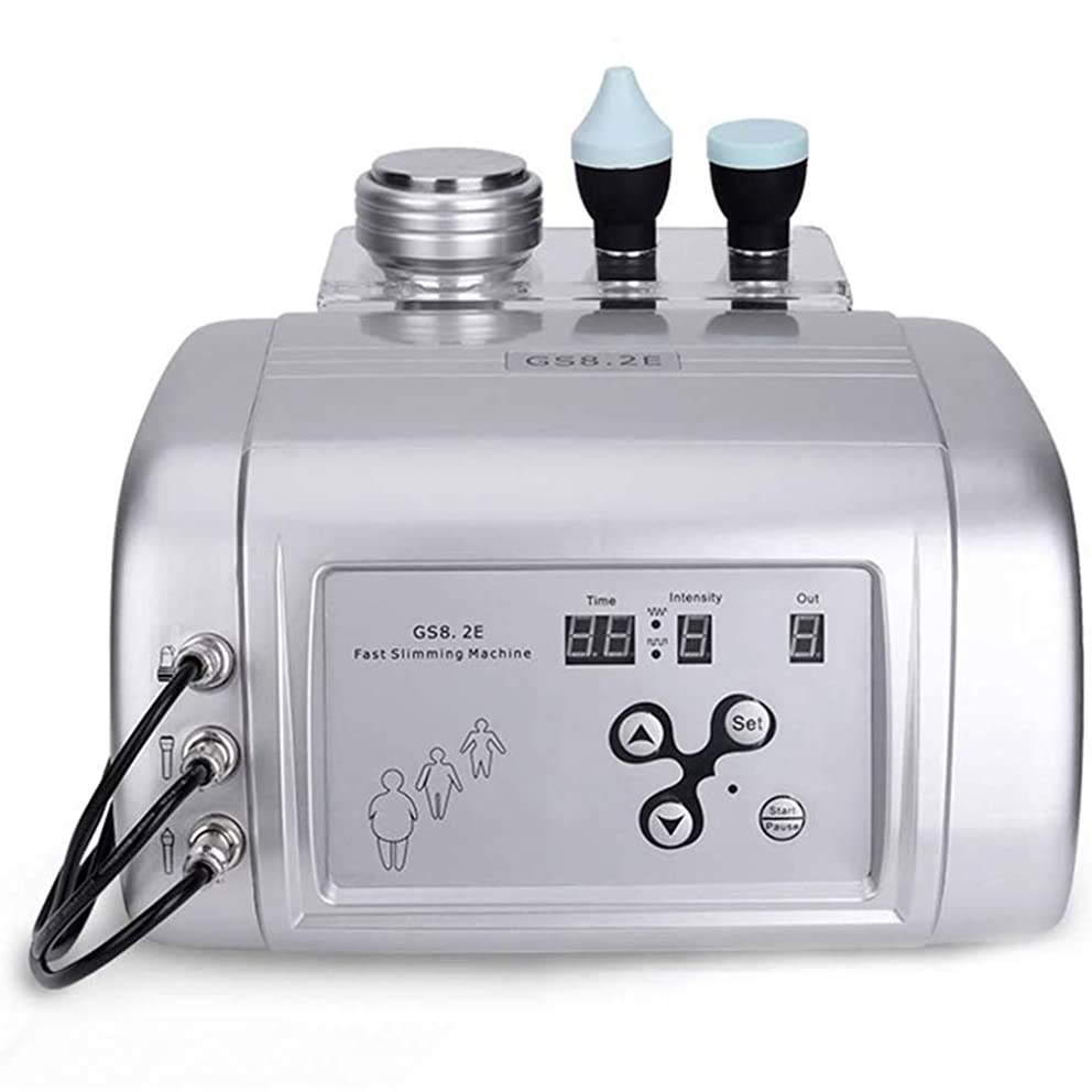 混乱医師通常ボディスリミングマッサージ、スキンケアデバイス超音波ガルバニックバーナー脂肪セルライトおなかベリー減量マシンマッサージャー