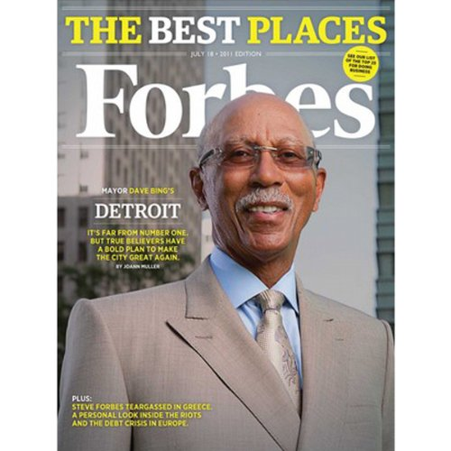 Forbes, July 4, 2011 cover art