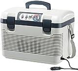 Xcase Kühlbox: Thermoelektrische Kühl-/Wärmebox, LED-Anzeige, 12/24 & 230 V, 19 Liter (Mini...
