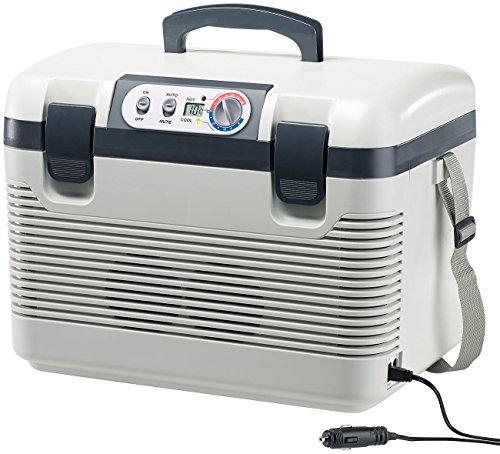 Xcase Kühlbox: Thermoelektrische Kühl-/Wärmebox, LED-Anzeige, 12/24 & 230 V, 19 Liter (Kühlbox 12V)