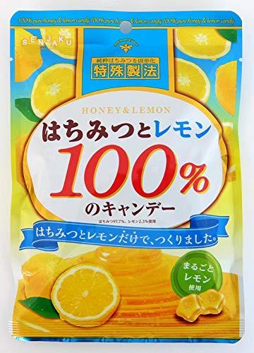 はちみつとレモン100%のキャンデー 6袋