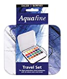 Aquafine Acuarela Est. 24 Uds.+1 Mini Pinc.+1 Pal.