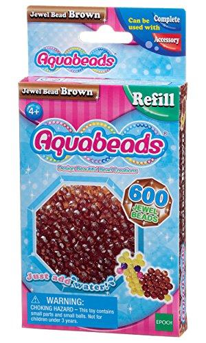 Aquabeads - 32738 - Braune Glitzerperlen
