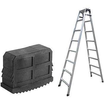 Garosa 2 Unids/Par Escalera Pies Almohadillas De Goma Antideslizantes Escalera Agarre Pies Estera Cojín de Seguridad Parachoques de Repuesto Kit: Amazon.es: Hogar