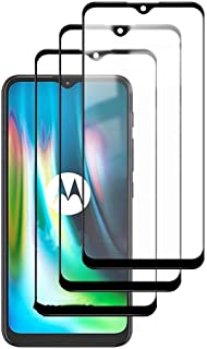 FanTing for Motorola Moto E7 Plus Screen Protector,[9H Hardness,Full Coverage,No bubbles,fingerprint],high-quality tempere...