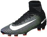 Nike 831943-013, Scarpe da Calcio Bambino, Nero (Black/White-Electric Green), 36 EU