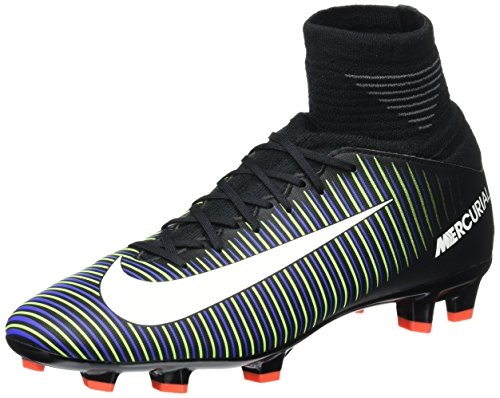 Nike Herren 831943-013 Fußballschuhe, Black Black White Electric Green, 36 EU