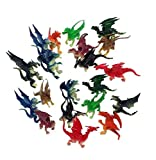 20 Pieces Mini Dragons 2.5 Inch to 3 Inch