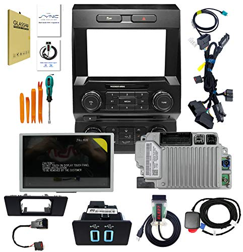 8'' SYNC2 to SYNC 3.4 Conversion Upgrade Kit Compatible with Ford F150 2013-2020, Support CarPlay &Android Auto Steering Wheel Control, Navigation Radio APIM Module LCD Display, Retain Factory Feature