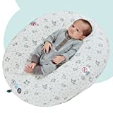 hiccapop Peapod Inflatable Portable Baby Lounger for...