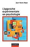 L'approche expérimentale en psychologie - 7ème édition