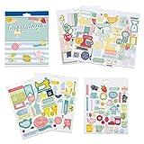 Boxclever Press Busy Days Planersticker, Scrapbook Sticker. Goldfolie-, Vinyl- und gepolsterte Aufkleber für Planer & Bullet Journals (Backen & Hobby)