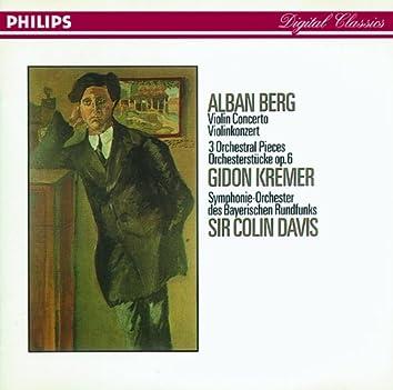 Berg: Violin Concerto; Three Orchestral Pieces