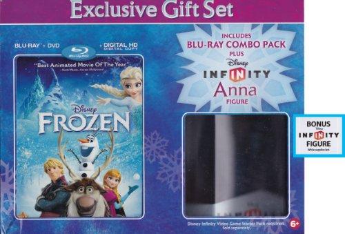 Frozen [Blu-ray + DVD + Digital HD Digital Copy + Infinity Anna Figure] (Widescreen)