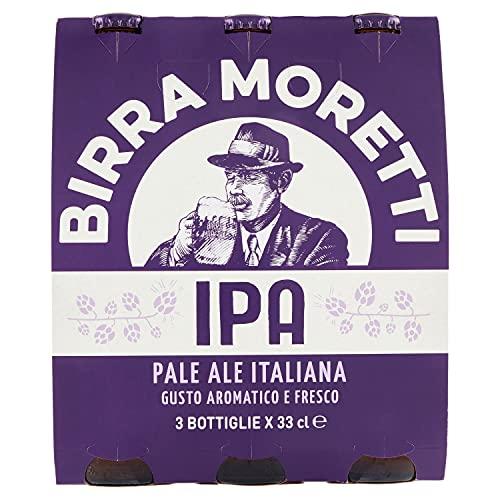 Birra Moretti IPA - Italian Pale Ale, 3 x 330ml