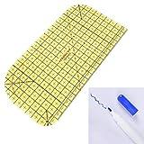 アイロン定規 測定ツール アイロン定規 パッチワークテーラークラフト Diy用品 耐熱定規/すそ上げ/折り返し/手芸用品/手芸道具/裁縫道具