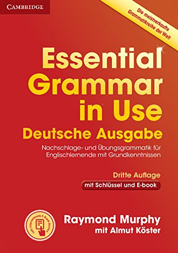 Essential Grammar in Use Book with Answers and Interactive ebook German Edition 3rd Edition