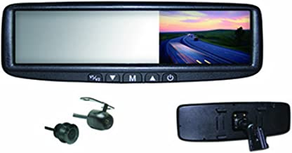 BOYO VTB46MC - Replacement or Clip-on Rear-View Mirror with 4.3