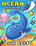 Ocean Coloring book for kids: Coloring Book for Girls Cute Doodle Animals Coloring Books Ages 2-4, 4-8, 9-12 (Shark, Dolphin and Fish)