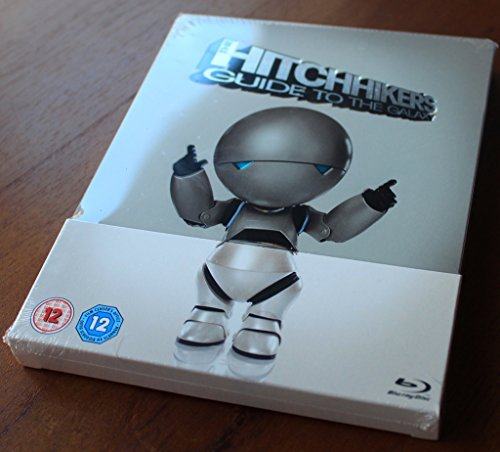 The Hitchhikers Guide To The Galaxy (Zavvi Blu-Ray Steelbook)(Region Free)