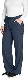Barco Grey's Anatomy Women's 4245 Junior Fit 4-Pocket Elastic Back Scrub Pants