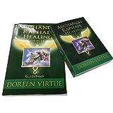 Tarot Arcángel Raphael curando Tarjeta Oracle, 44 Tarjetas y guía en inglés.