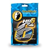 HeadBlade メンズ HB6 ヘッドシェーバー カミソリ替え刃 6枚刃 4個入り