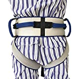 Cinturón de transferencia con lazos de pierna, seguridad de enfermería médico dispositivo de asistencia de Gait-terapia ocupacional y física para Bariatría, pediátrica, ancianos (azul)