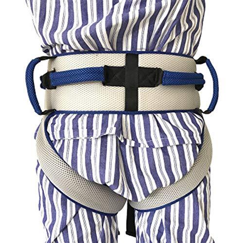 Cinturón de transferencia con lazos de pierna, seguridad de enfermería médico dispositivo de asistencia de Gait-terapia ocupacional y física para Bariatría, pediátrica, ancianos (azul) ✅