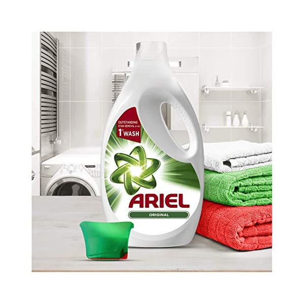 Ariel Sensaciones Detergente Líquido 3.3l, 60 Lavados, Poder Quitamanchas Incluso A 30 °C