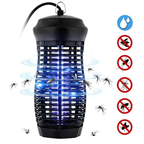 Zenoplige Insektenvernichter, Mückenlampe wasserdichte Insektenfalle - IPX4, eine leistungsstarke 9W Leuchtstoffröhre, effektive Bekämpfung von fliegenden Insekten, um Mückenstiche zu vermeiden