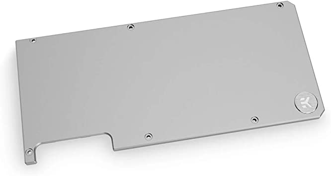 schwarz EKWB EK-Quantum Vector RTX 3080//3090 Backplate Black